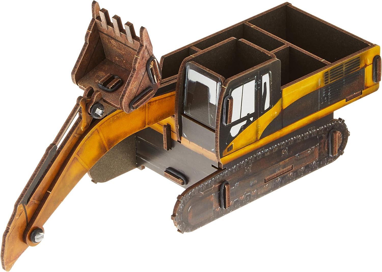 Werkhaus Escavatore da Cantiere Stiftebox 16 x 27 x 10 cm