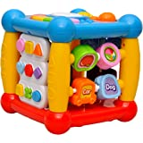 Toyshine Educational Multi-Learning Cube, Numbers, Shapes, Colors, Letters and Much More