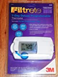 Filtrete 7 Day Deluxe Programmable Thermostat 3M25