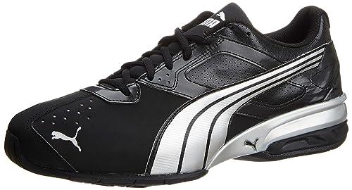 Puma Men s Tazon 5 NM Black and Puma Silver Running Shoes - 13UK India ( f80b1674c