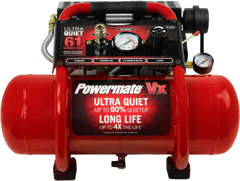 Powermate Vx SAC22HPP 2 gallon Ultra-Quiet Air Compressor