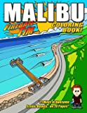 Fireball Tim's MALIBU Coloring Book: 21 Miles of Scenic Coloring Beauty... on 20 Pages!