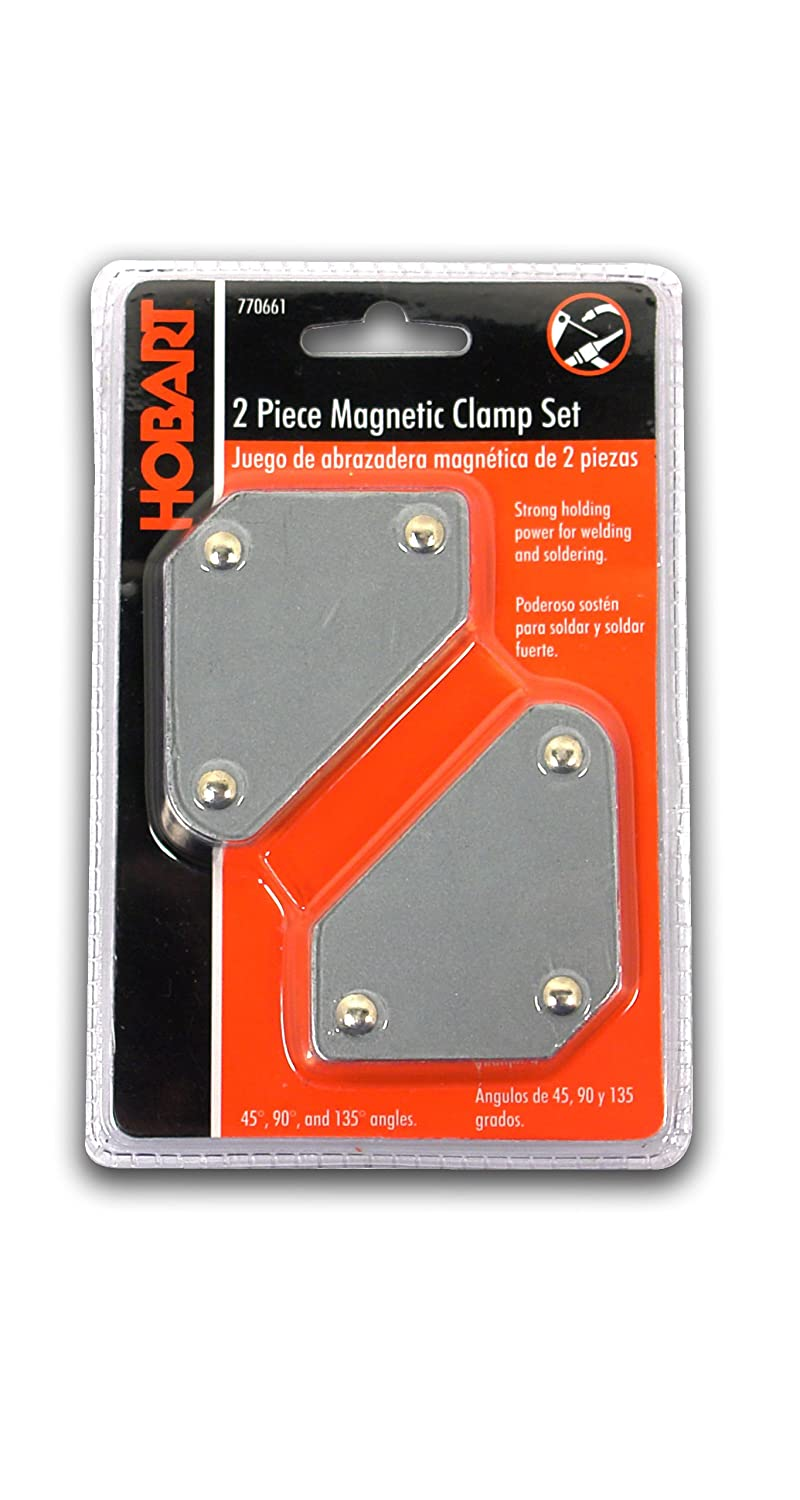 Hobart 770661 Mini Magnetic Welding Holder Set, 2-Pack
