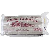 Amish Country Popcorn | Old Fashioned Microwave Popcorn | Old Fashioned with Recipe Guide (White & Red Corn on the Cob, 2 Pack)