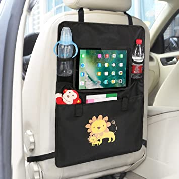 Luxury Car Back Seat Organizer With Tablet Holder