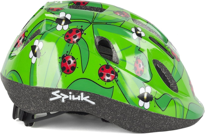 Spiuk Kids - Casco de Ciclismo para niños, Color Rojo, Talla 52-56 ...