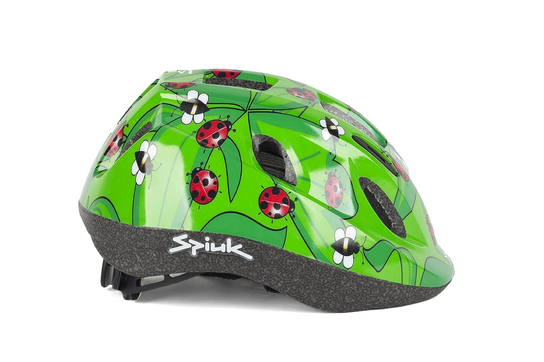 Spiuk Kids - Casco de ciclismo para niños, color rojo, talla 52-56: Amazon.es: Deportes y aire libre