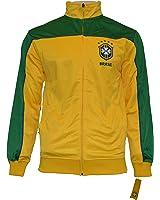 Brasil Jacket Brazil Track Soccer Adult Sizes Brazil Soccer Football Official Merchandise