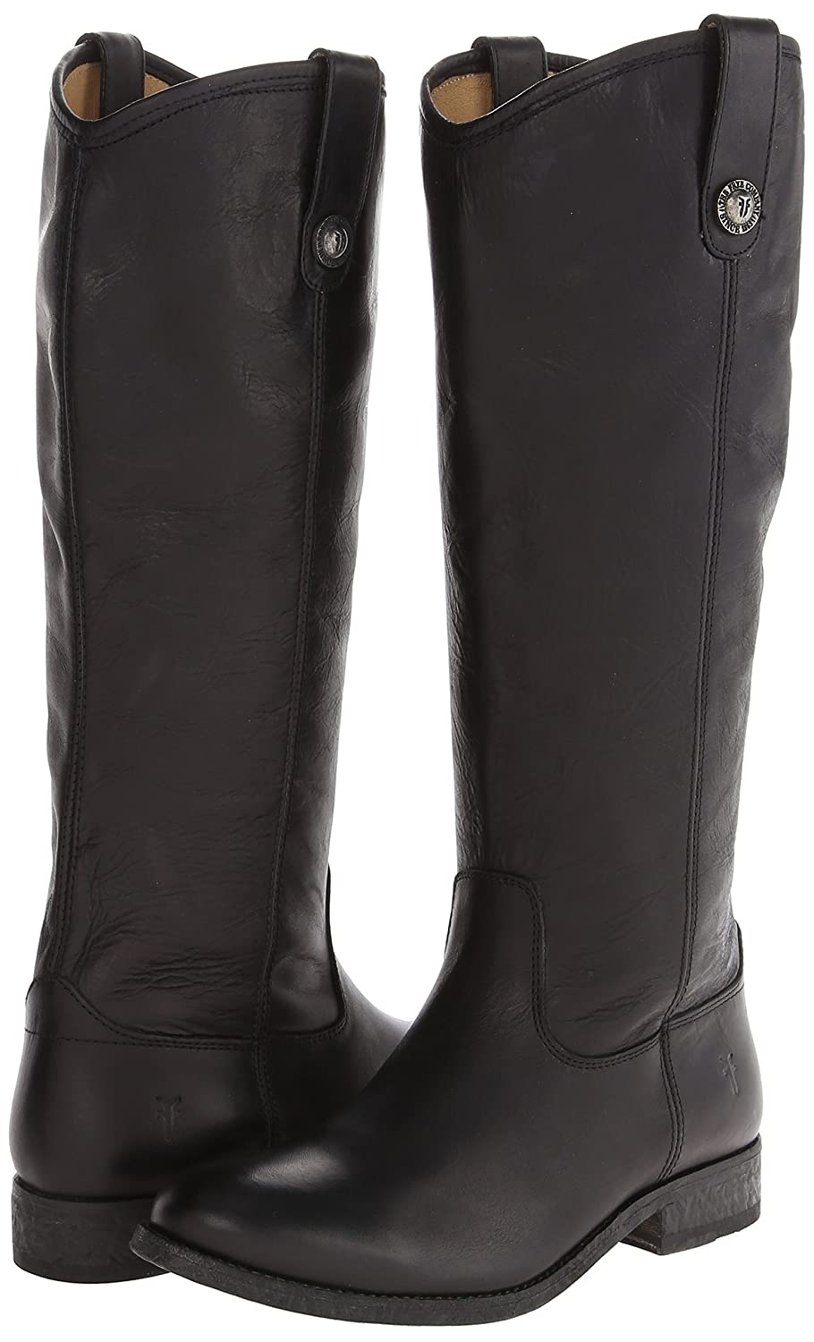 FRYE Women's Melissa Button Boot B00IMIDVQ2 7 B(M) US|Black Washed Antique Pull-up-77172