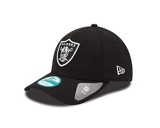 f4b9003b57d362 Amazon.com: NFL The League Oakland Raiders 9Forty Adjustable Cap ...