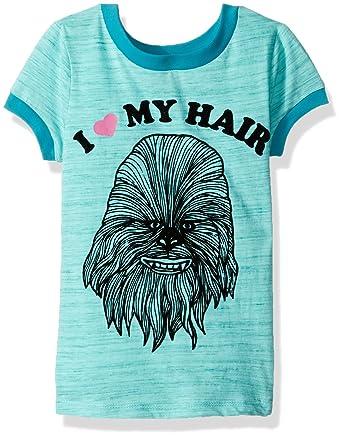Amazon Com Star Wars Girls Chewbacca T Shirt Clothing
