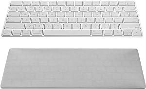 Elastic Dust Cover Sleeve for Apple Wireless Keyboard, Magic Keyboard 2 (Light Grey)