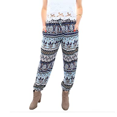 07b48228241 Piney+Co Harem Pants for Women Thai Elephant Pants