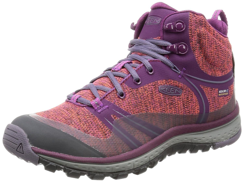 KEEN Women's Terradora Mid Waterproof Hiking Shoe B01H8GIGUY 7.5 B(M) US Dark Purple/Purple Sage