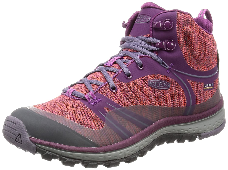 Violet (Dark violet violet Sage) KEEN KEEN KEEN Terradora Mid WP, Chaussures de Randonnée Hautes Femme d30