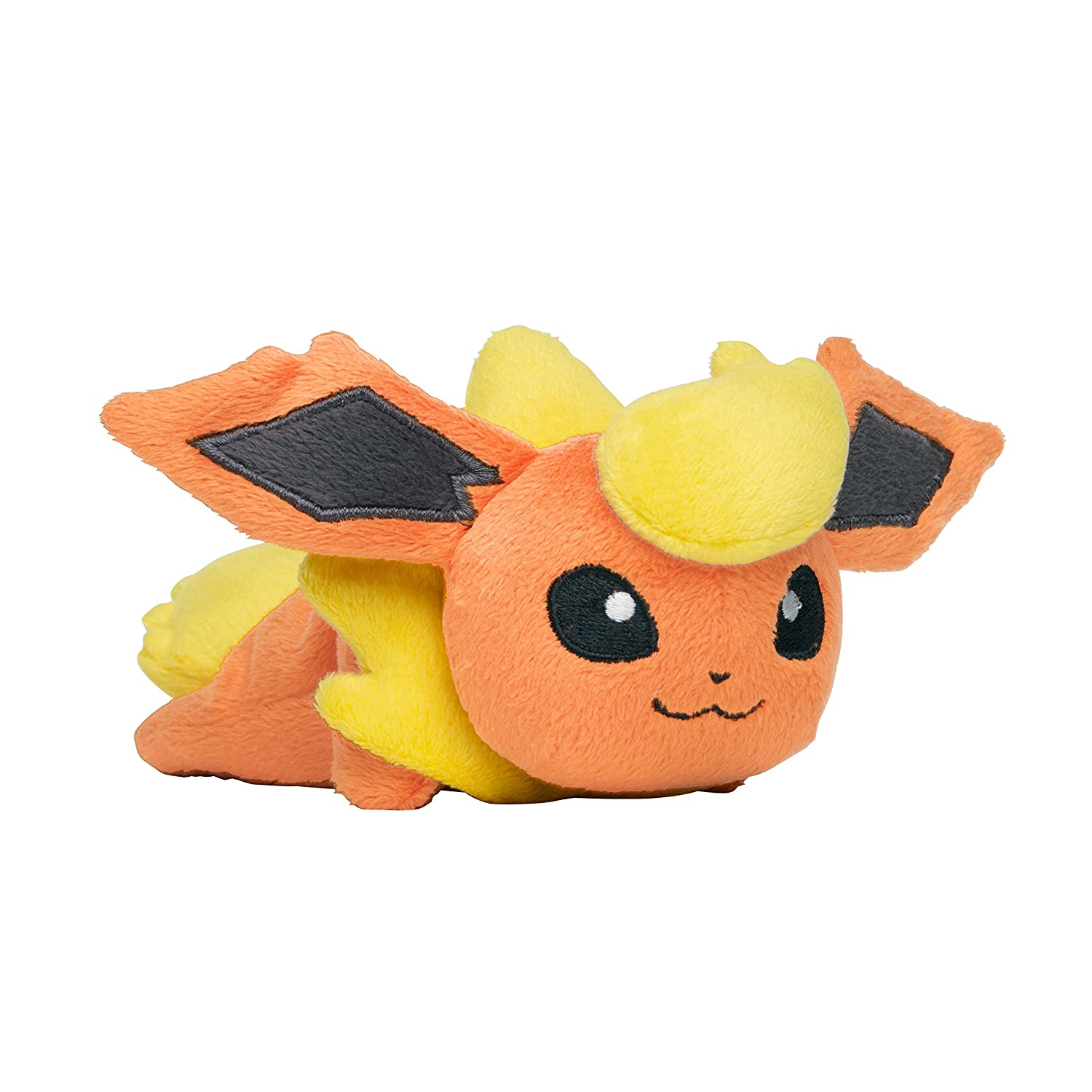 Amazon.com: Pokemon Center Original Kuttari stuffed Flareon: Toys & Games