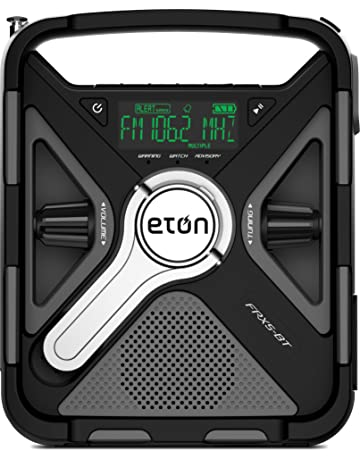 Eton Emergency Weather Radio, the Ultimate Outdoor Radio with Bluetooth, 2000 mAh Rechargeable Battery