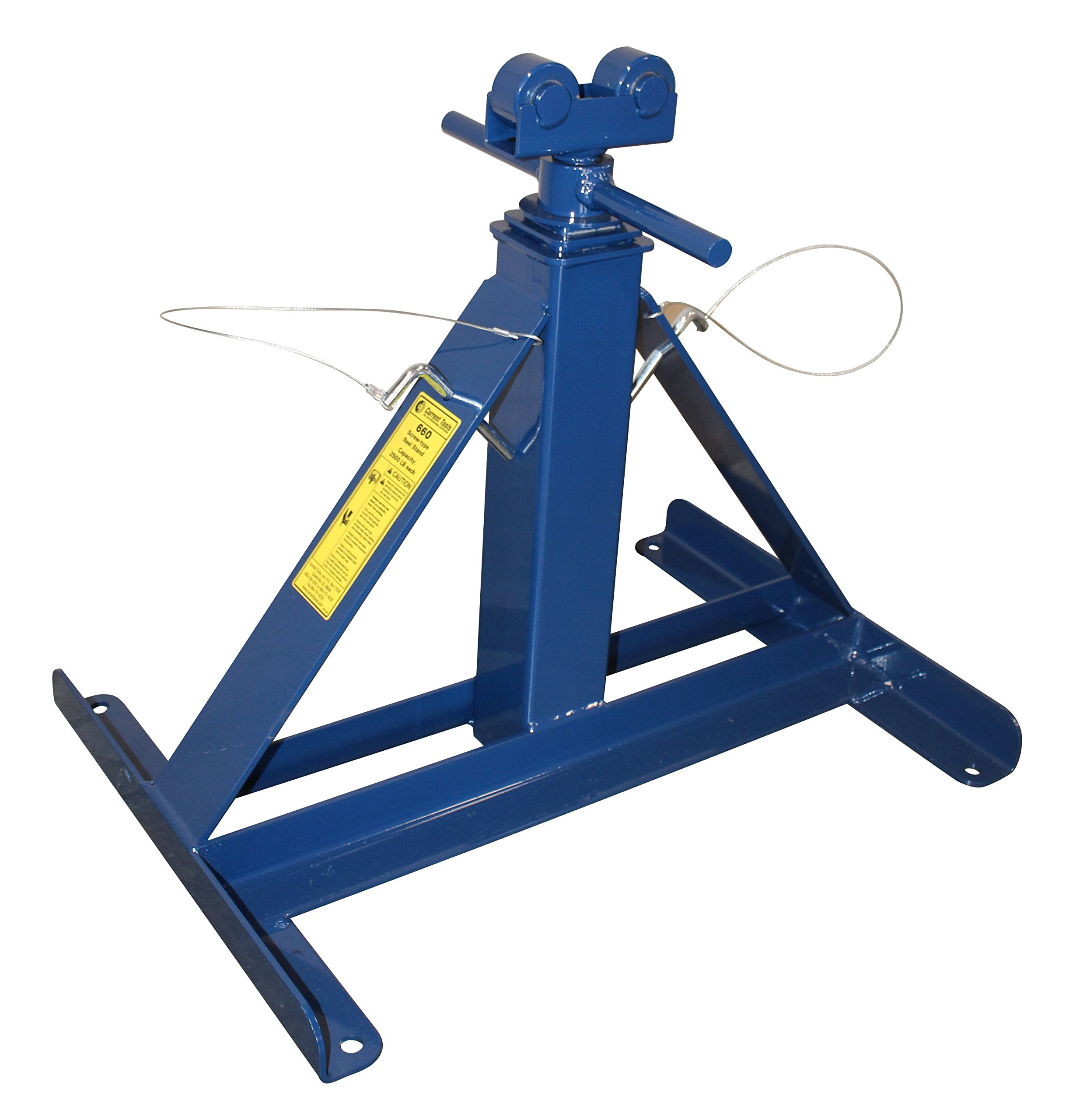 Current Tools 660 Small Screw Type Reel Stand, 13-27''