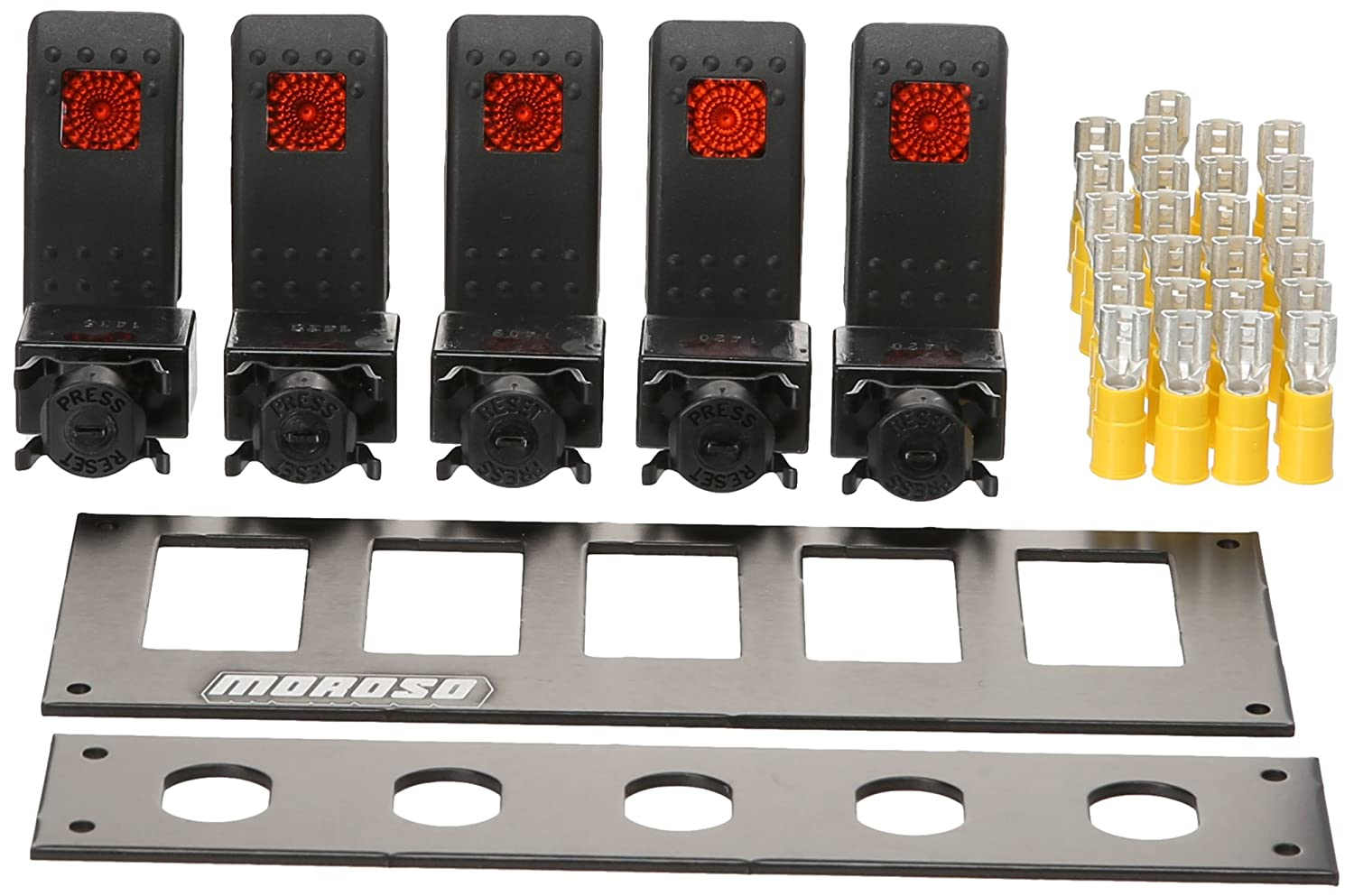 Moroso 74183 Rocker Switch Panel