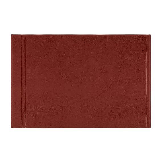 DECOLICIOUS - Juego de 2 Toallas de Ducha 100% Algodón Peinado - 550gr/m2 - Naranja Teja - 100x150 cm: Amazon.es: Hogar