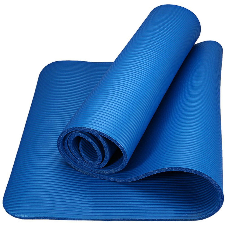 Amazon.com : Chiced 183 x 61 x 1cm Yoga Mat 10mm Anti-skid ...