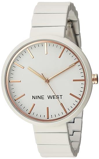 d2a8f2ff361 Nine West NW2012IVRG Reloj de Diseñador para Mujer: Amazon.com.mx ...