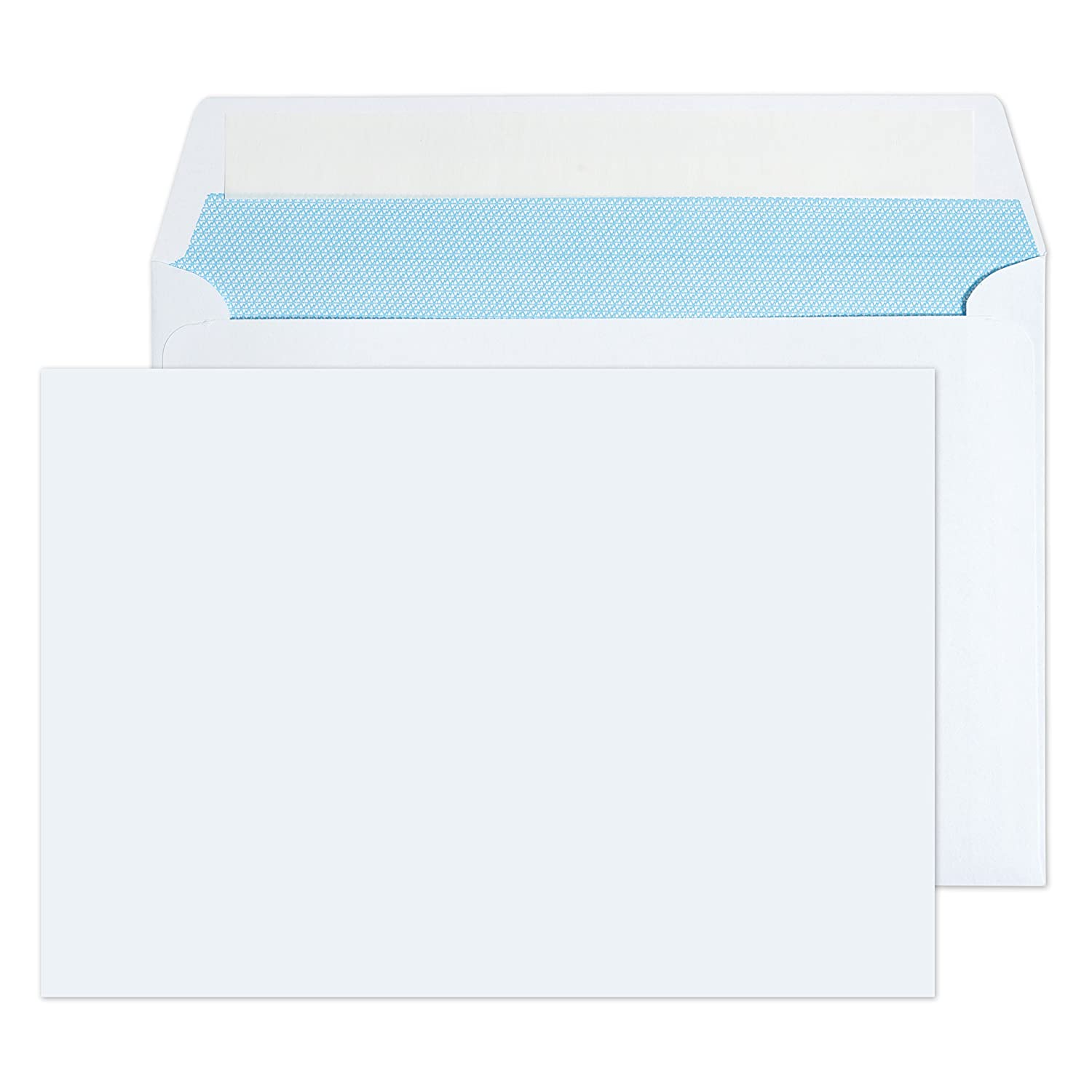 C5 / A5 White Peel & Seal Envelopes Pack of 30 - High Quality Free UK Delivery
