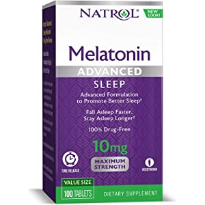 Amazon.com: Olympian Labs Melatonin 10 mg Time Release, 60 Count ...