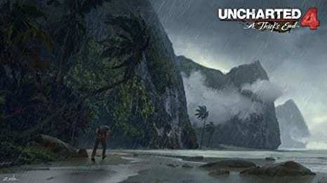 Uncharted 4 A Thief S End 029 Video Game Wallpaper Decoration Art