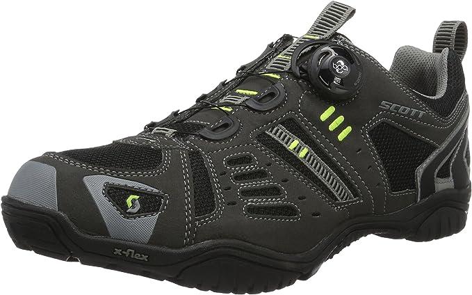 SCOTT Bicicleta Zapatos Hombres Zapatos Trail Boa, Hombre, Negro ...