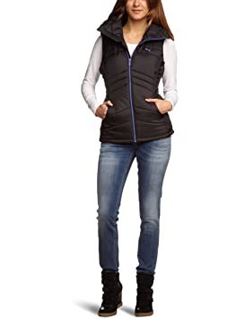 5cd020448 Puma Wms Active Women's Sleeveless Jacket Padded black-violet storm ...