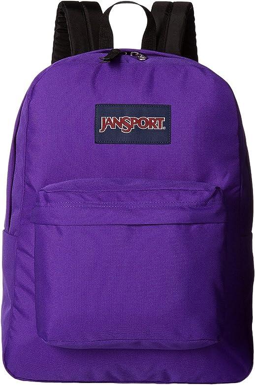 JanSport Superbreak Backpack - (Insignia Purple)