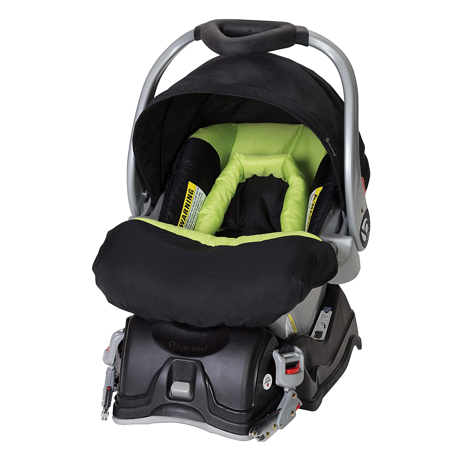 Baby Trend EZ Flec Loc Infant Car Seat, Spring Green CS43A63A