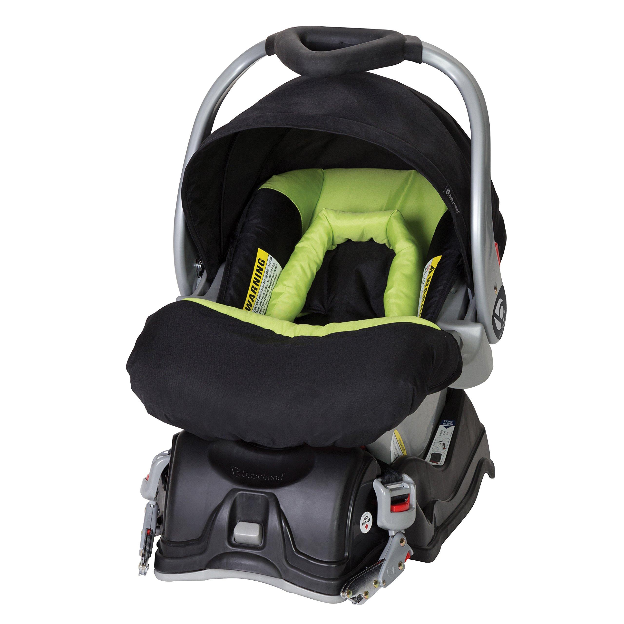 Baby Trend EZ Flec Loc Infant Car Seat, Spring Green