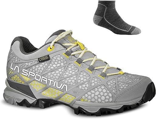 La Sportiva - Botas de Senderismo para Mujer Yellow/Mid Grey W ...