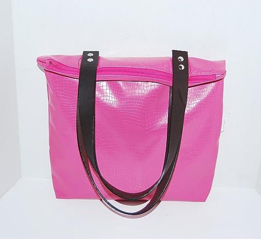 7ad3476d9f06 Amazon.com  Pink Tote Bag