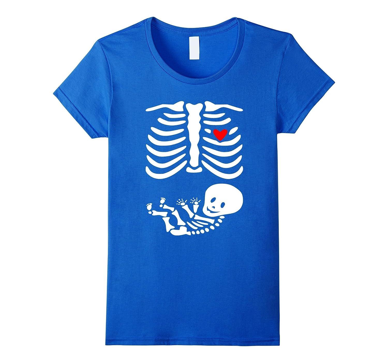 Pregnant Skeleton Baby  Maternity Themed Costume T-Shirt