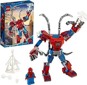 LEGO Super Heroes 76146 Spider-Man Mech Building Kit (152 Pieces)