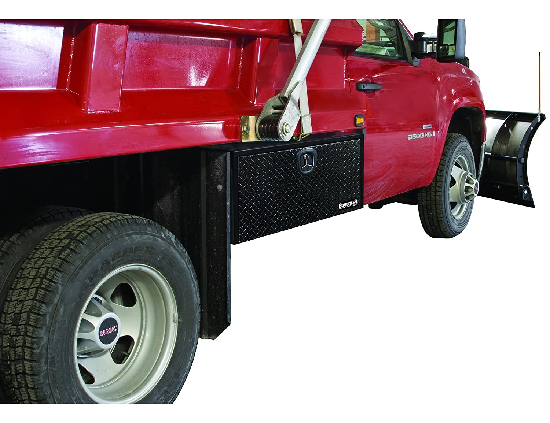 Buyers Products Black Steel Underbody Truck Box w// Aluminum Door 18X18X24 Inch