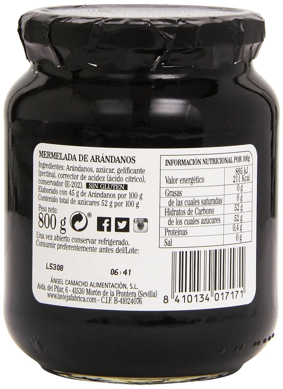 La Vieja Fabrica - Mermelada de arándanos - 800 g