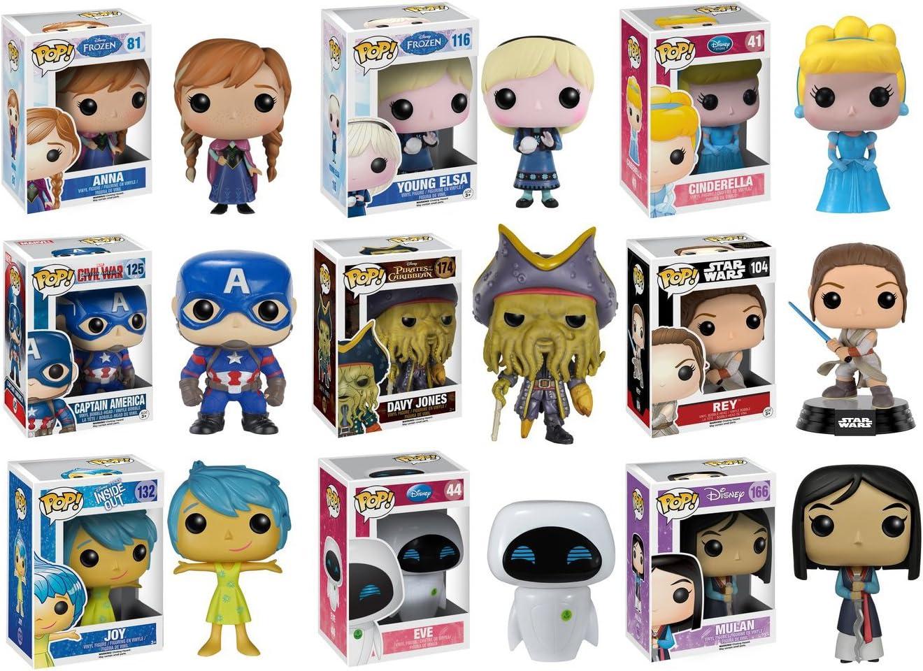 POP ¡Disney Misterio Pack - 6 Pops al Azar: Amazon.es: Juguetes y juegos