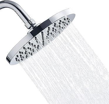 Amazon.com: Alcachofa de ducha fija de lluvia de lujo de ...