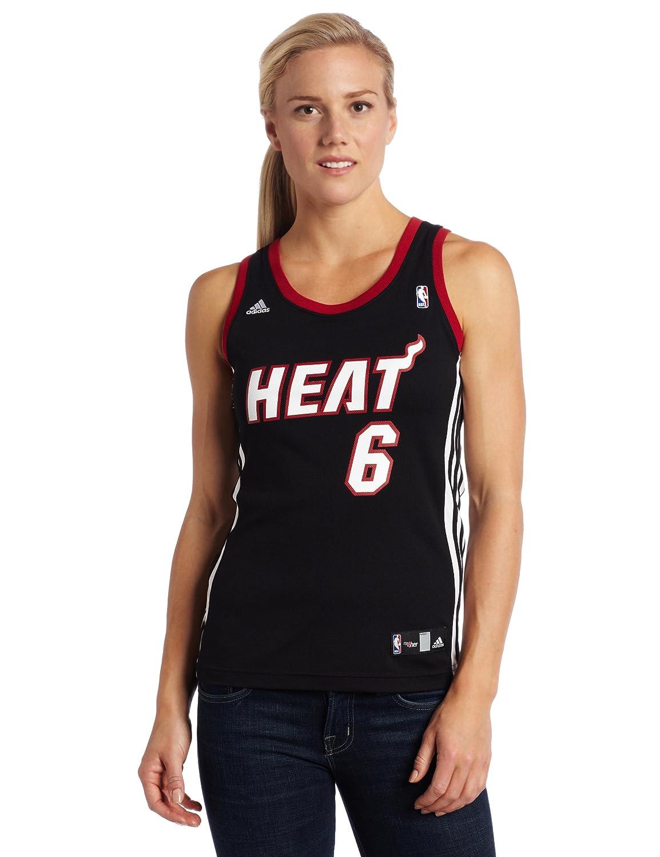 buy popular 71723 bd2e4 Amazon.com : NBA Women's Miami Heat Lebron James Replica ...