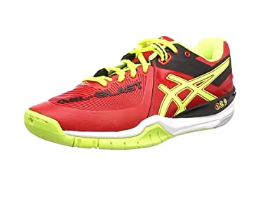 ASICS Gel-Blast 6, Chaussures Multisport Outdoor Hommes - Rouge (Chinese Red/Flash Yellow/Black 2307), 41.5 EU