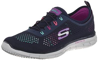 Womens Skechers Glider Harmony Memory Foam Slip On Sneaker