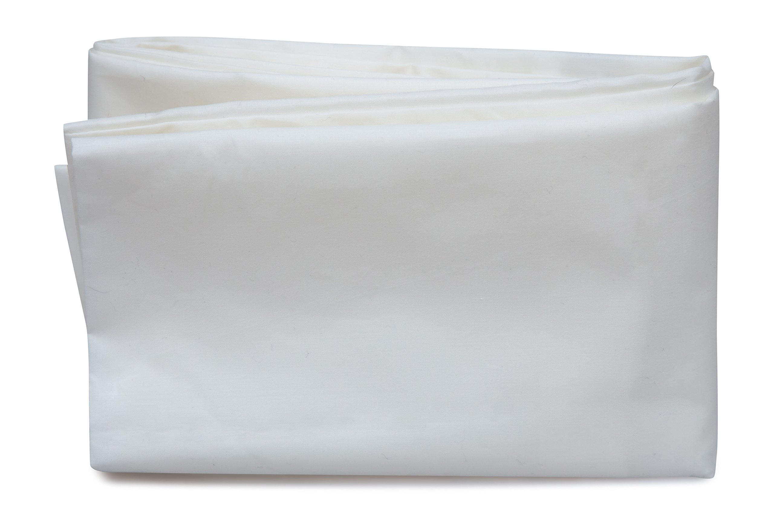Toddler Pillowcase By Mother Sheep Organics, 100% Pure Certified Long Staple Organic Cotton, 240 Thread Count, Soft Percale Weave