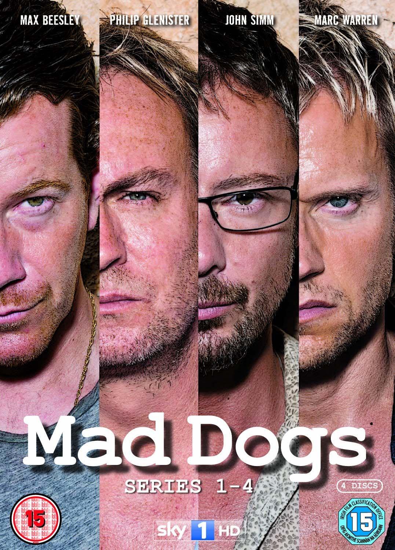 Mad Dogs - Series 1-4 Box Set [Reino Unido] [DVD]
