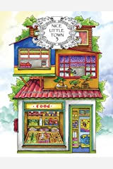 Adult Coloring Book: Nice Little Town (Volume 3) Paperback