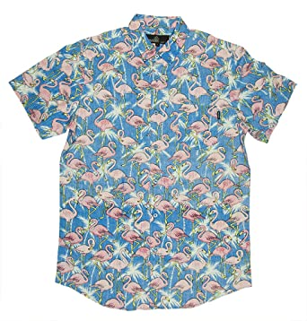7d455d83 M MOLOKAI SURF Official Molokai Shirts (Flamingos (Blue), Medium). Roll over  image to ...