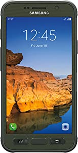 Samsung Galaxy S7 ACTIVE G891A 32GB Unlocked GSM Shatter-Resistant, Extremely Durable Smartphone w/ 12MP Camera - Camo Green (Renewed)
